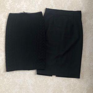 Zara pencil skirt bundle xs